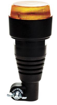 LED FLASHING BEACON 10-30V FLEXIBLE BASE - FASTENING ON TUBE