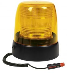 XENON BEACON DUAL VOLTAGE 10-36V MAGNETIC BASE / WITH SPIRAL CABLE AND CIGARETTE PLUG