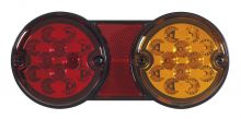 4-FUNCTION REAR LED LAMP SERIES DSL-210 WITH TWIN BASE